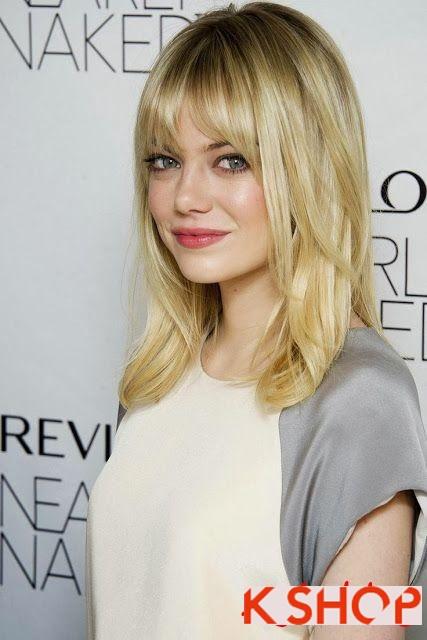 4 mẫu tóc đầy phong cách cho cô nàng có khuôn mặt tròn