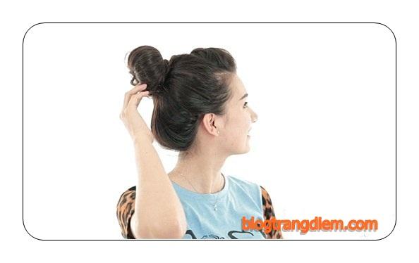 5 kiểu tóc búi cho nàng thỏa sức dạo chơi ngày nóng