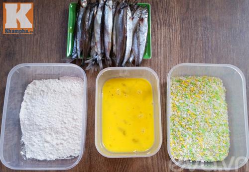 Cách chiên xù cá trứng đơn giản mà ngon
