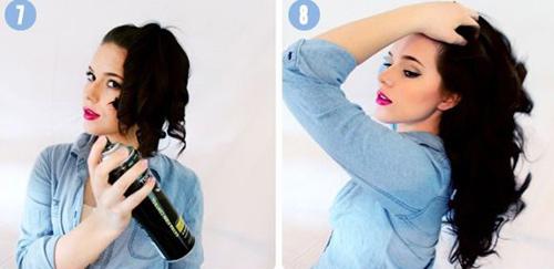 Cách làm tóc xoăn đẹp đơn giản tại nhà cho bạn gái