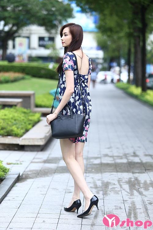 Đầm liền thân xòe đẹp được tuyển chọn cho quý cô công sở