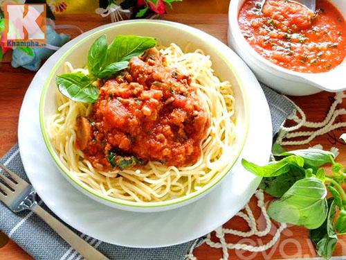 Hướng dẫn làm sốt spaghetti thơm ngon hấp dẫn