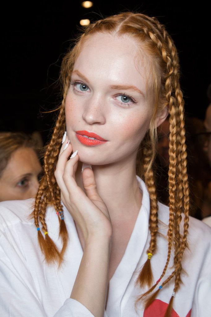Ngắm xu hướng tóc tại tuần lễ thời trang new york
