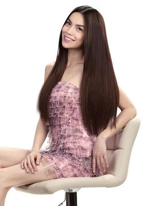 Tóc dài duỗi thẳng đẹp nhất hiện nay của sao việt
