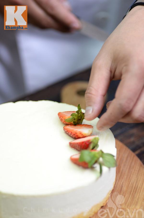 Cách làm bánh mousse socola hương vị phở