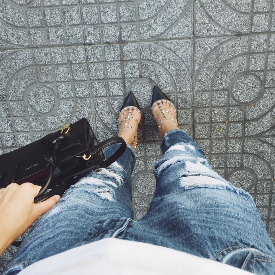 Cận cảnh đôi giày chinh phục các đại mỹ nhân việt