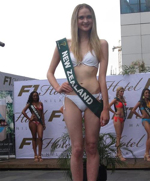 Hoa hậu new zealand ăn hàng cân bánh bơ vẫn thon gọn