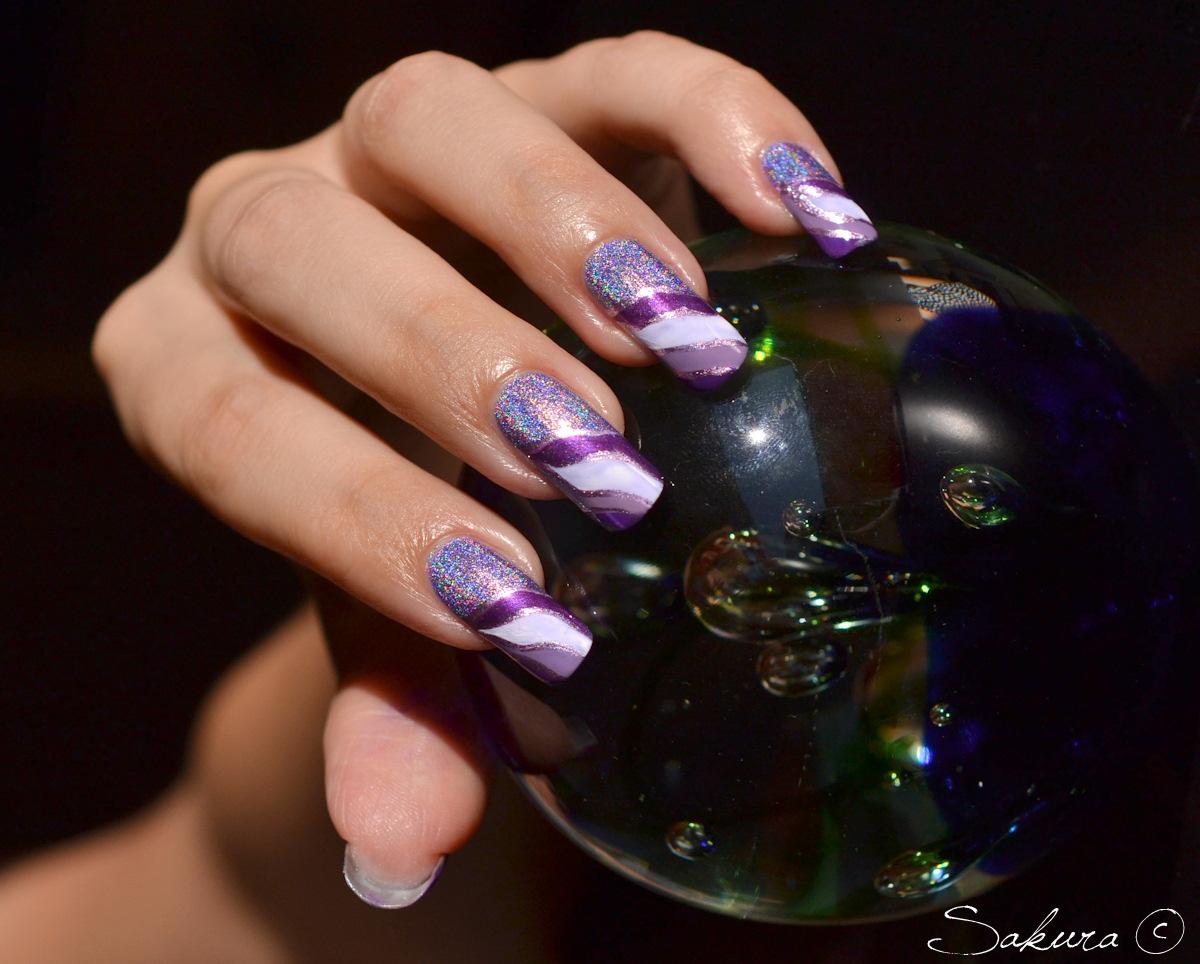 10 mẫu móng tay cho cô nàng cá tính thêm nổi bật
