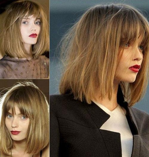 5 mẫu tóc ngắn ngang vai đẹp cho bạn nữ