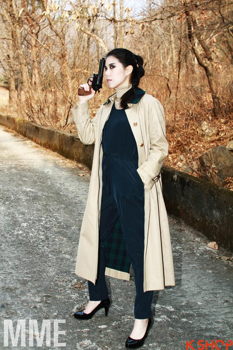 Áo khoác nữ dáng dài cuốn hút những ngày đông