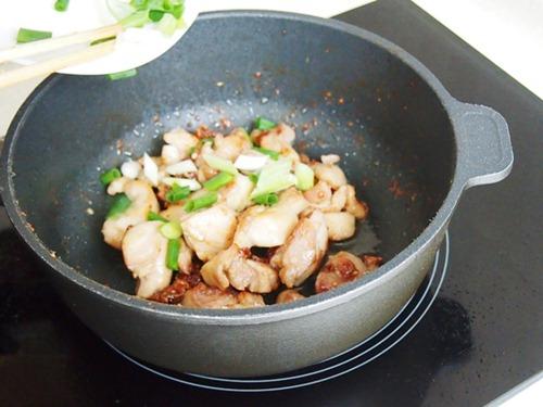 Bí quyết nấu món gà xào cay hấp dẫn