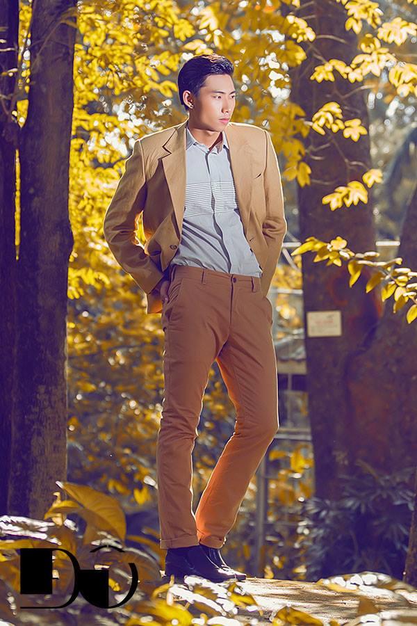 Lãng mạn những ngày thu đông với áo khoác nam phong cách hàn
