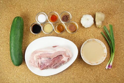 Ngất ngây món dưa chuột cuộn thịt heo ngon mê