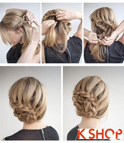 Cách làm 3 kiểu tóc búi đơn giản tại nhà