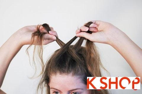 Hướng dẫn tết tóc kiểu pháp đơn giản cho bạn gái