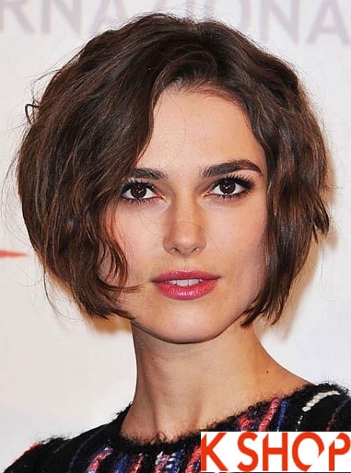 Kiểu tóc hiện đại cho cô nàng có khuôn mặt mũm mĩm