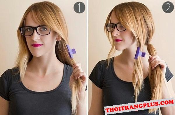 Kiểu tóc tết đẹp xinh xắn cho bạn gái