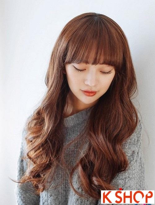 Kiểu tóc xoăn hàn cho bạn gái muốn thay đổi cá tính