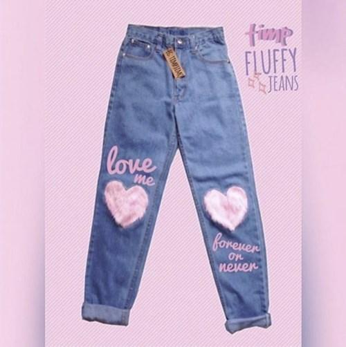 Làm ảo thuật với chiếc quần jeans cũ
