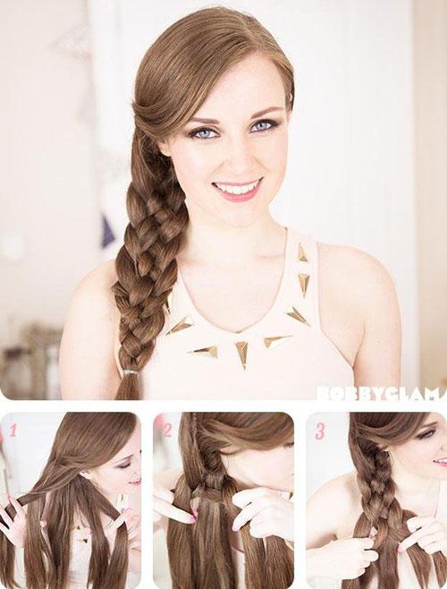 Những kiểu tóc gọn gàng giúp vào bếp dễ dàng