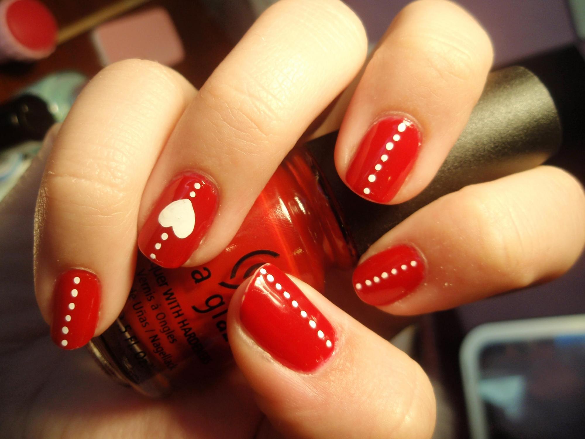 15 mẫu móng tay nail đỏ đẹp ngọt ngào quyến rũ nổi bật 2017