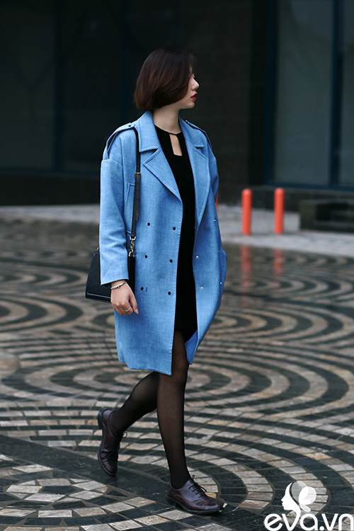 Phái đẹp hà nội chọn áo khoác ngọt lịm xua tan giá lạnh