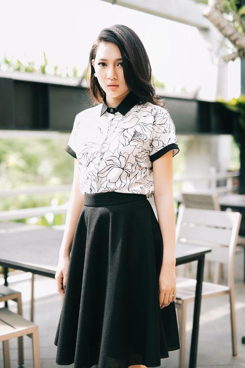 Biến hóa phong cách với tông đen-trắng kinh điển