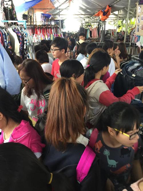 Chợ thời trang bổ - rẻ - văn minh của giới trẻ sài gòn