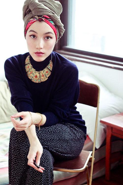 Cô gái hồi giáo nổi như cồn vì mặc đẹp