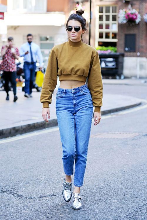 Mặc jeans đẹp như chân dài hái ra tiền kendall jenner