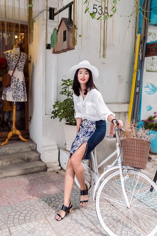 Thời trang công sở cuối hè dịu ngọt của phái đẹp sài gòn