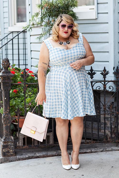 Tự tin mặc đẹp như nữ btv thời trang siêu béo