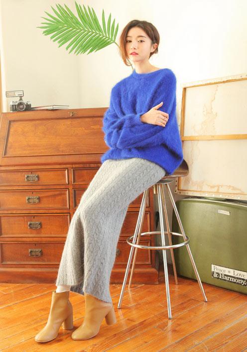 6 cách kết hợp áo len tuyệt xinh chơi tết