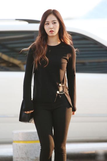Gu thời trang năng động của ngọc trai đen yuri snsd