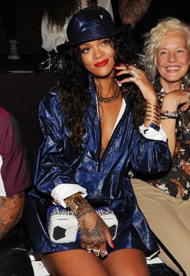 Nicki minaj rihanna khoe phong cách ở new york fashion week