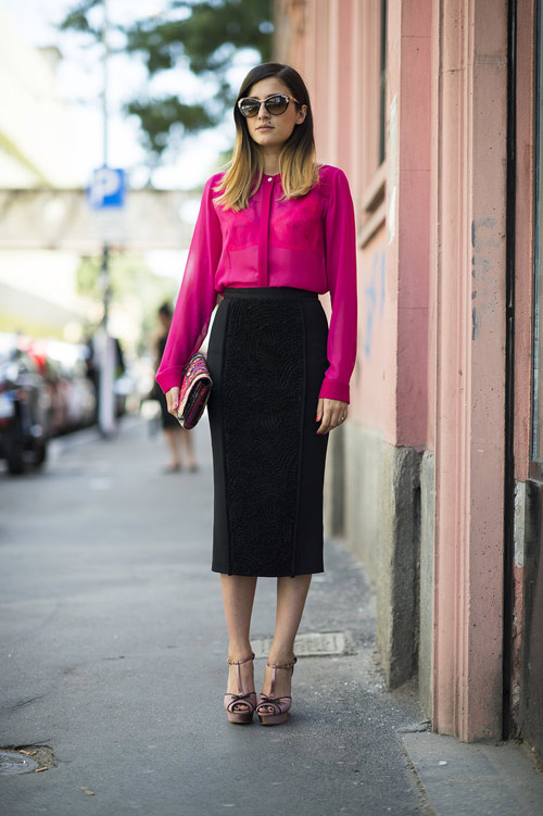 Tuyệt chiêu mặc màu hồng không bị quê