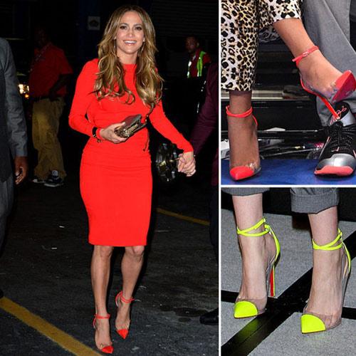 Những đôi giày nhìn giá là choáng của sao việt