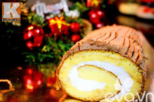 Cách làm bánh khúc cây mừng giáng sinh