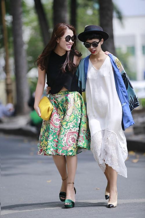 Ngắm 2 quý cô mặc đẹp nổi tiếng sài gòn
