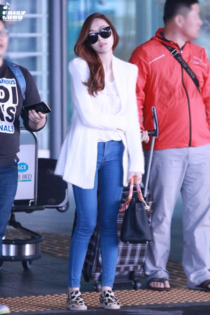 Ngắm guu mặc thời thượng của jessica jung