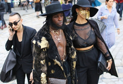 Phong cách street style ấn tượng ở london fashion week
