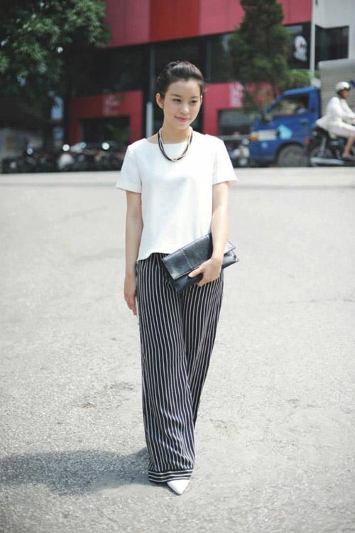 Thời trang tối giản phủ sóng đường phố việt