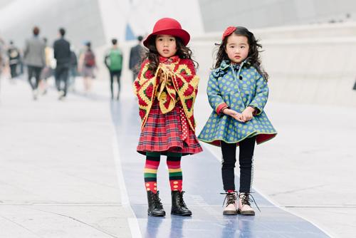 Tín đồ chất không đợi tuổi ở seoul fashion week