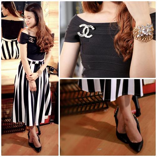 Váy áo thăng hoa nhờ trang sức
