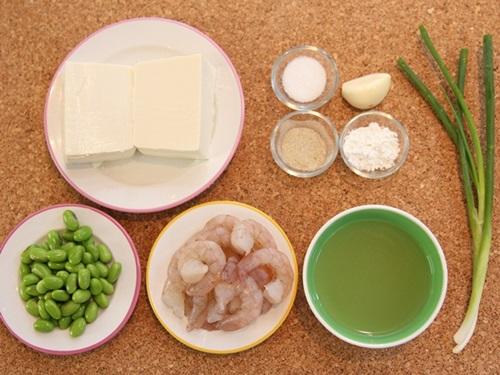Hướng dẫn làm đậu hũ sốt tôm đơn giản trôi cơm