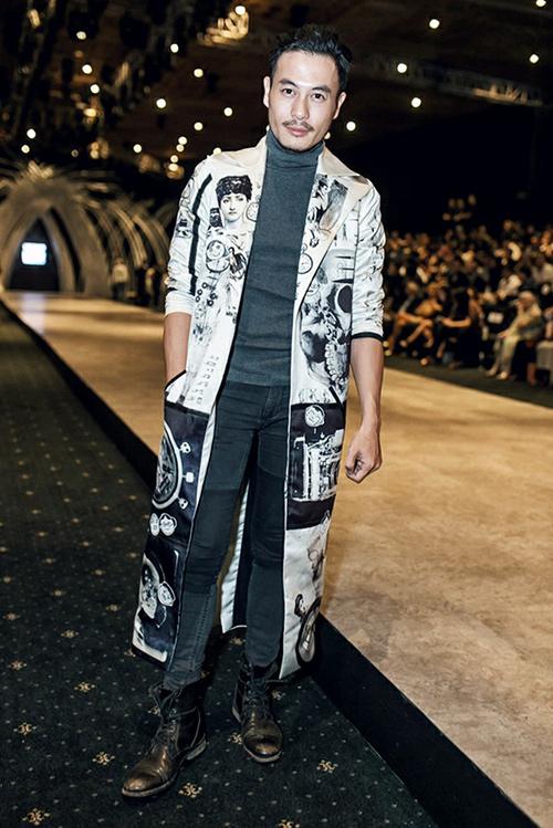 Ngắm style cuốn hút của các mỹ nam mỹ nữ tại tuần thời trang