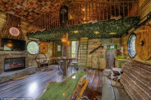 Nhà nghỉ trên cây cho người hâm mộ the hobbit