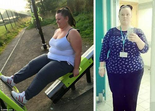 Bà mẹ đơn thân giảm 50kg nhờ uống 9 cốc trà xanh ngày