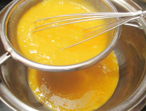 Bánh mousse xoài thơm mát