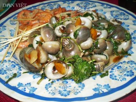 Hương vị khó quên của món ốc mỡ xào rau răm thơm lừng ngon mê